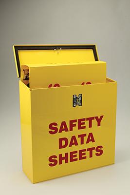 Safety Data Sheets Job Site Box Signs Sku S2 1156