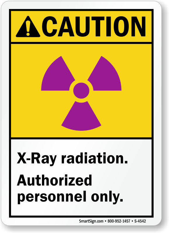 Microwave Mri X Ray Radiation Labels