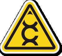 Carcinogen ISO Warning Symbol Label
