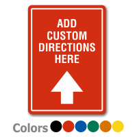 Add Custom Directions Label