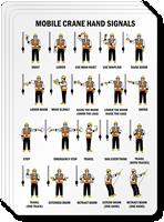Mobile Crane Hand Signals Label | Crane Signalman Images