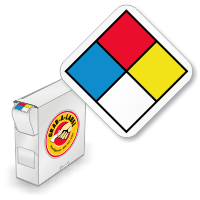 NFPA Mini Paper Labels