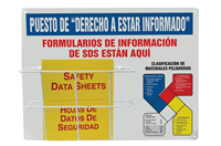 Spanish Right To Know NFPA Basket Station