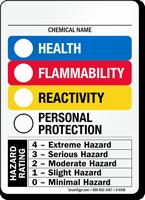 Color Bar RTK HMIG Sign, Add Ratings