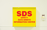 SDS Information Center Storage Cabinet