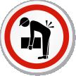 Lifting Hazard ISO Circle Sign