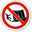 Tilted Loading Dock Warning