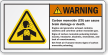 Carbon Monoxide Can Cause Brain Damage Warning Label