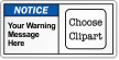 Custom Message ANSI Notice Label