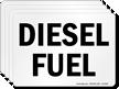 Diesel Fuel Chemical Hazard Label