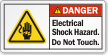 ANSI Danger Label