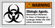 Etiologic Agents Biomedical Material Notify CDC Warning Label