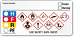 GHS Hazard and HMIG Combo Label