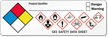 GHS Hazard and NFPA Combo Label