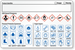 GHS Hazard, PPE for Target Organs Combo Label