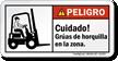 Gruas De Horquilla En La Zona Spanish Label
