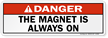 ANSI Radiation Safety Label