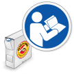 ISO Read Operator's Manual Symbol Grab-a-Labels Dispenser Box