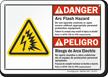 Arc Flash And Shock Hazards Sign