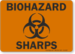 Biohazard Sharps Biohazard Sign