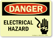 Danger: Electrical Hazard (with graphic)