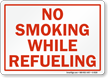 No Smoking While Refueling