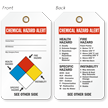 Chemical Hazard Alert 2-Sided Tag