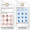 Danger or Warning GHS and PPE Tag