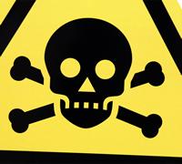 ISO W016 - Toxic/Poison Label