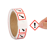 GHS Exclamation Mark Pictogram Label