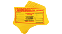 Hazardous Waste Accumulation Labels For Safety