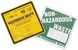 FAQ's for Hazardous Waste Labels