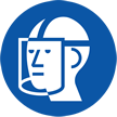 Wear Face Shield Symbol