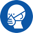 Wear Dust Mask Symbol