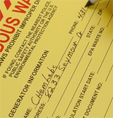 6 Tips Hazardous Waste Labels