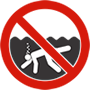 Drowning Hazard Symbol