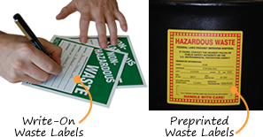 Hazardous Waste Labels