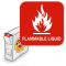 Flammable Liquid (with DOT hazard picot)
