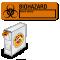 Biohazard Hazard Identity Label