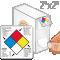 NFPA Paper Hazard Labels (500/Roll)